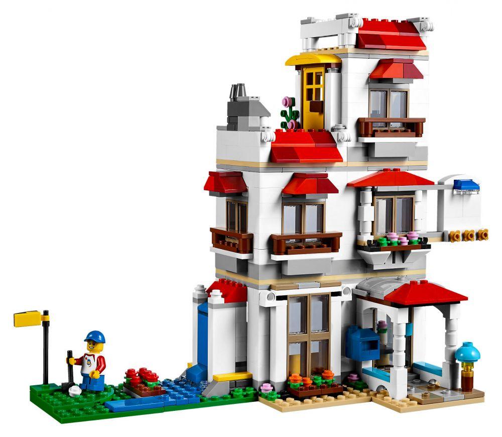 Modernes Lego Wohnzimmer 2018: LEGO Creator 31069 Pas Cher, La Maison Familiale