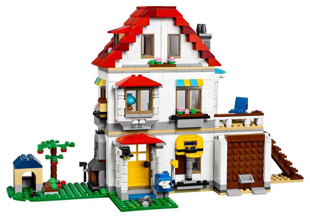lego creator 31069 pas cher la maison familiale. Black Bedroom Furniture Sets. Home Design Ideas