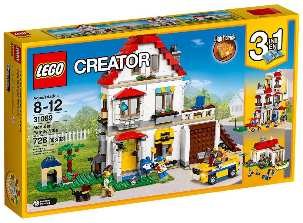 achat spécial 100% qualité garantie commercialisable LEGO Creator 31069 La maison familiale