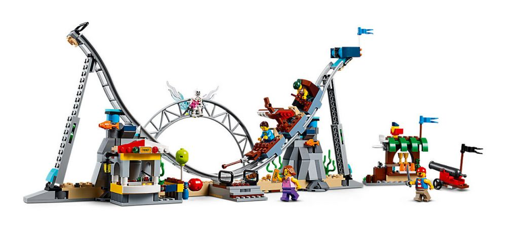 Russes 31084 Les Des Pirates Lego Creator Montagnes f7gyb6