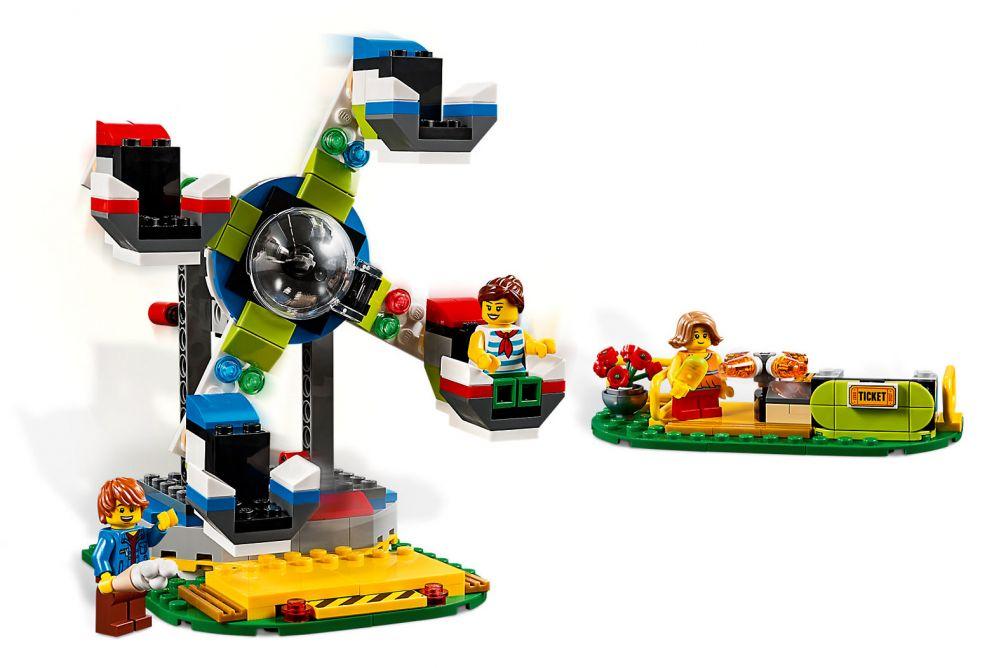 Creator La Le De Foraine Lego Manège Fête 31095 lKJcFT1