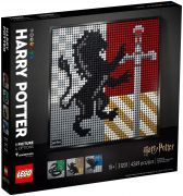 LEGO Art 31201 Harry Potter Les blasons de Poudlard