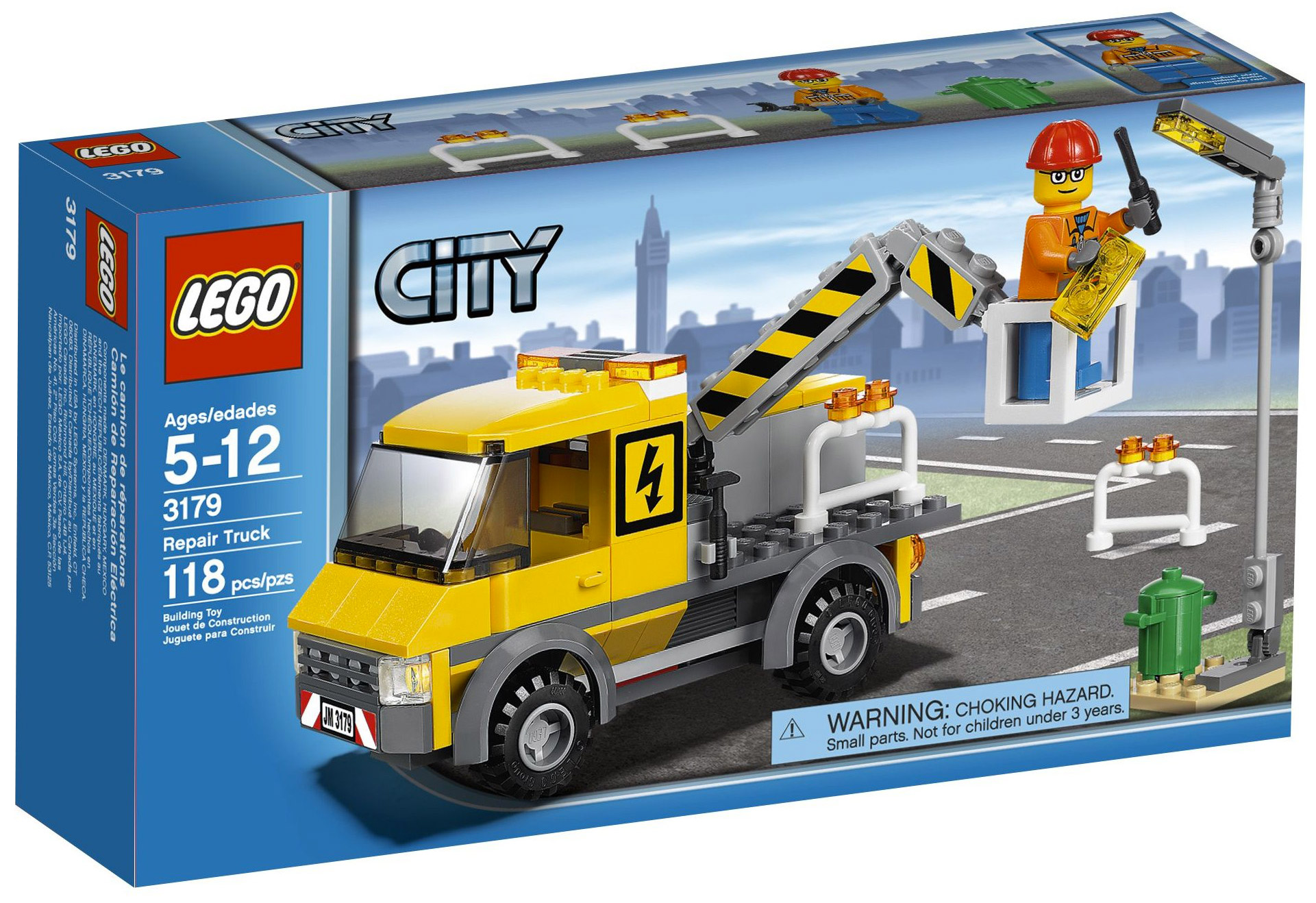 lego city 3179 pas cher le camion de r paration. Black Bedroom Furniture Sets. Home Design Ideas