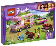 LEGO Friends 3184 - Le camping-car pas cher