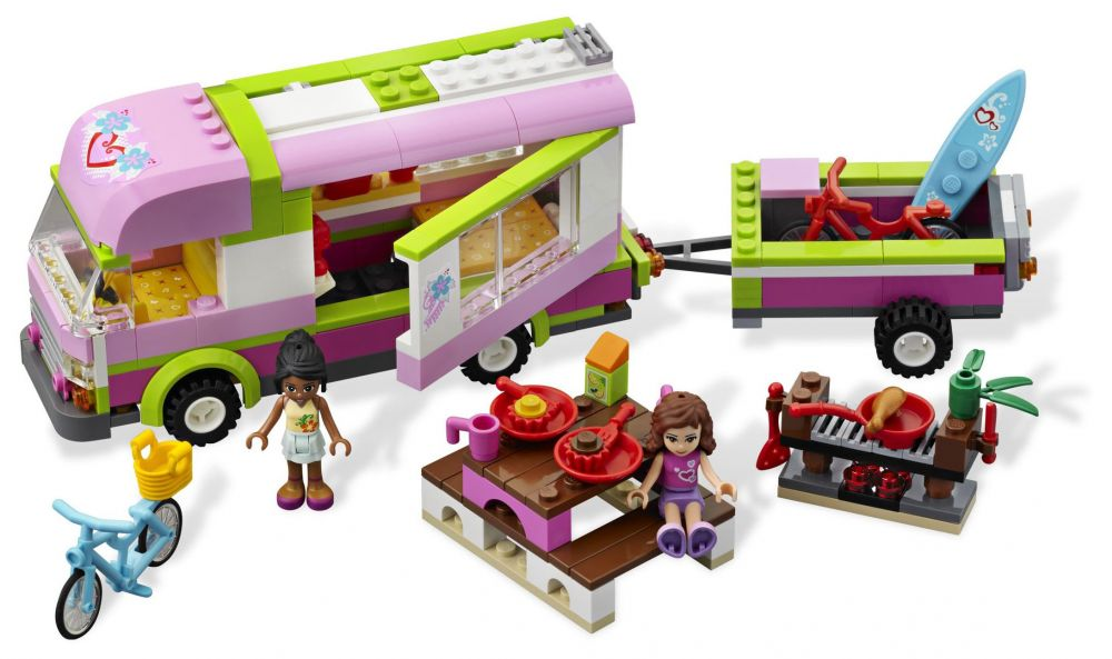 lego friends 3184 pas cher le camping car. Black Bedroom Furniture Sets. Home Design Ideas