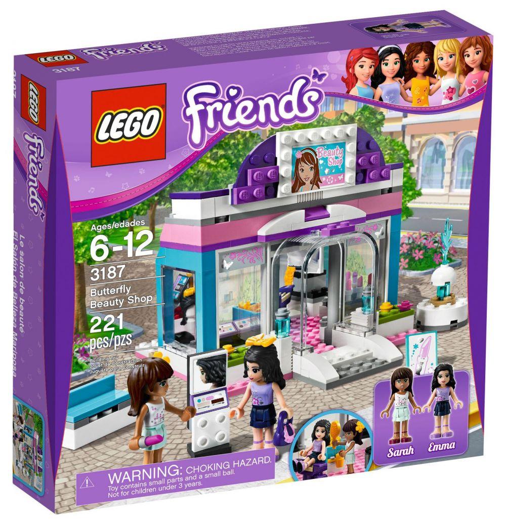 lego friends 3187 pas cher le salon de beaut. Black Bedroom Furniture Sets. Home Design Ideas