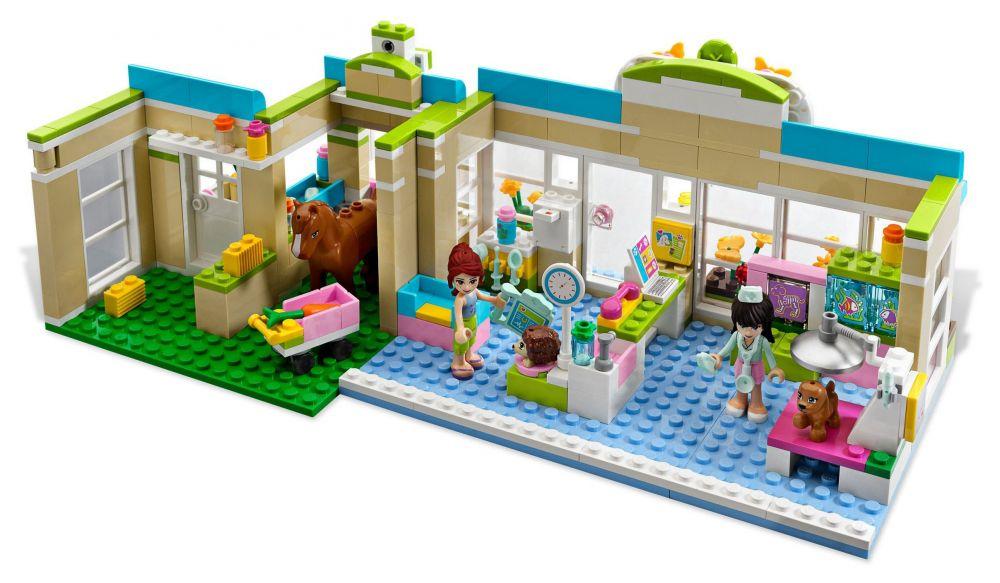 Populaire LEGO Friends 3188 pas cher - La clinique vétérinaire PK79