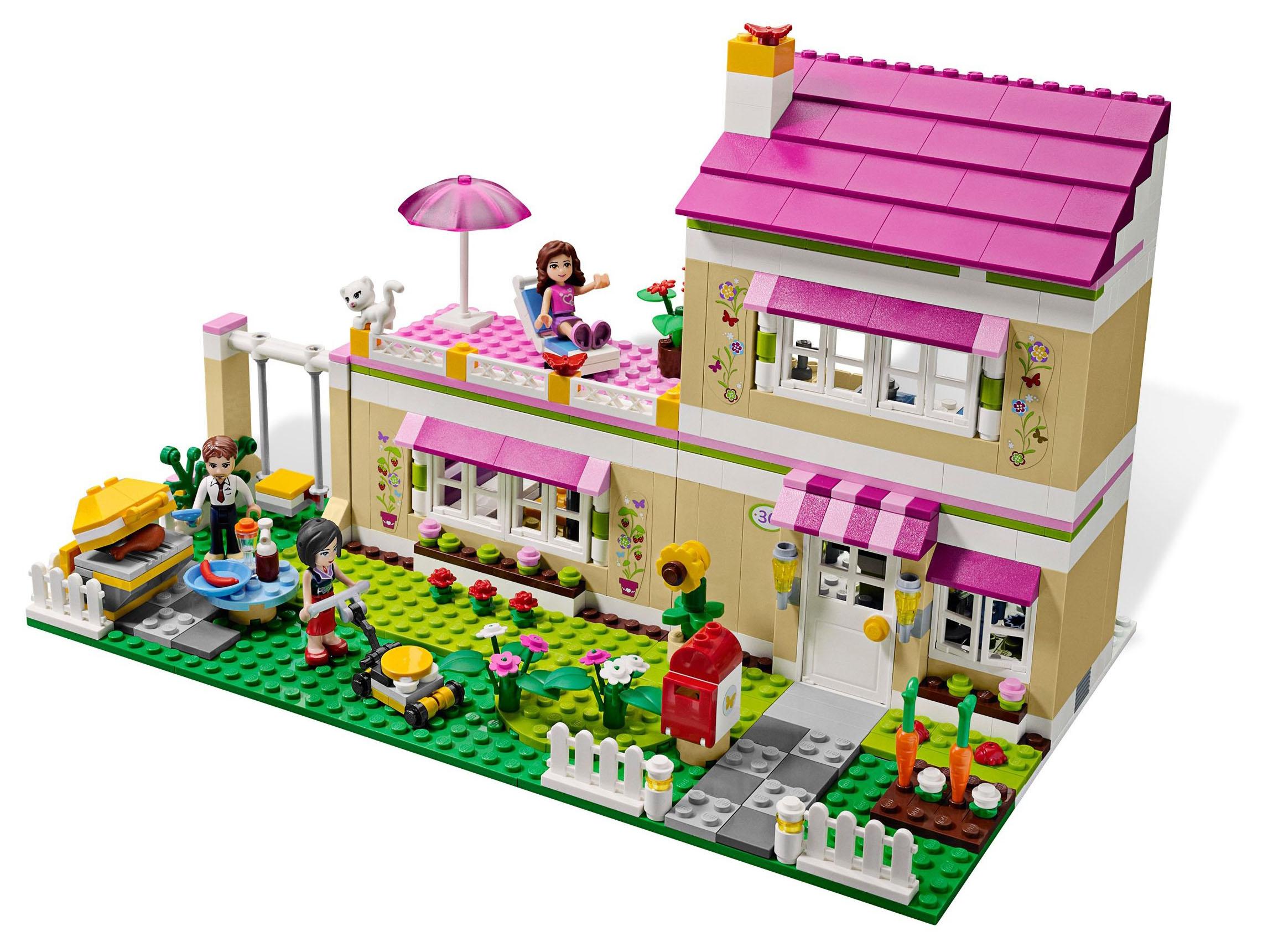 Notice LEGO 3315 La villa, mode d'emploi  notice 3315 La villa