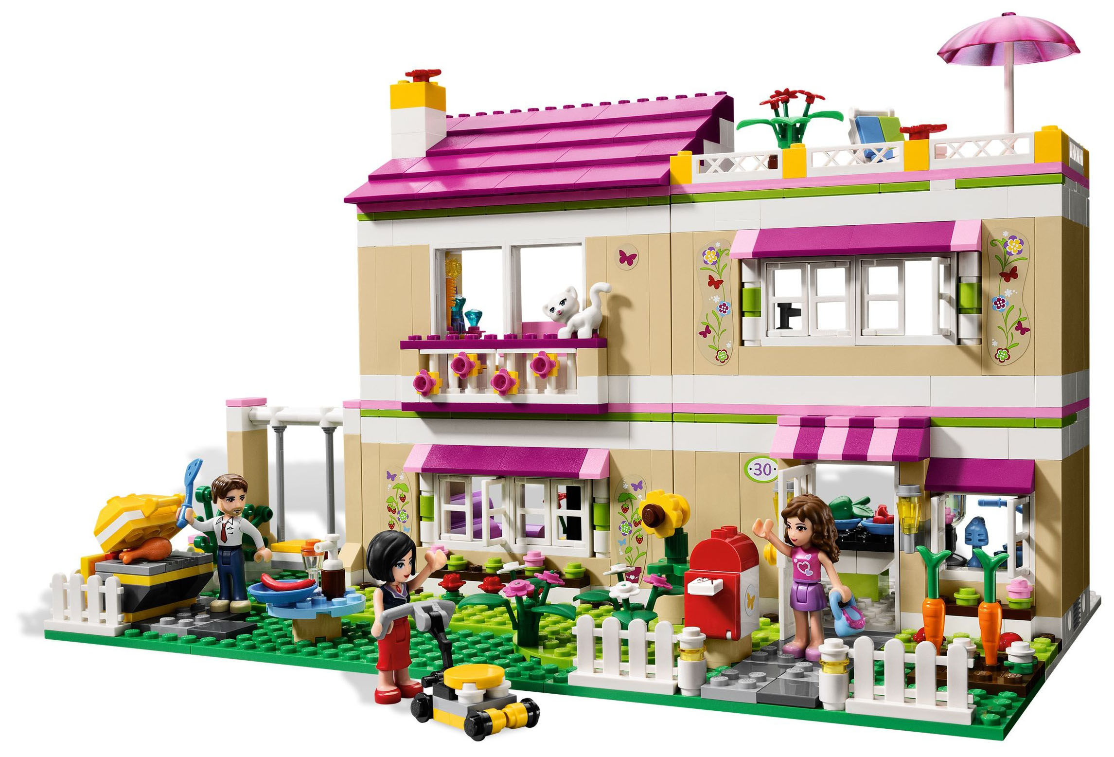 notice de montage lego friends villa. Black Bedroom Furniture Sets. Home Design Ideas