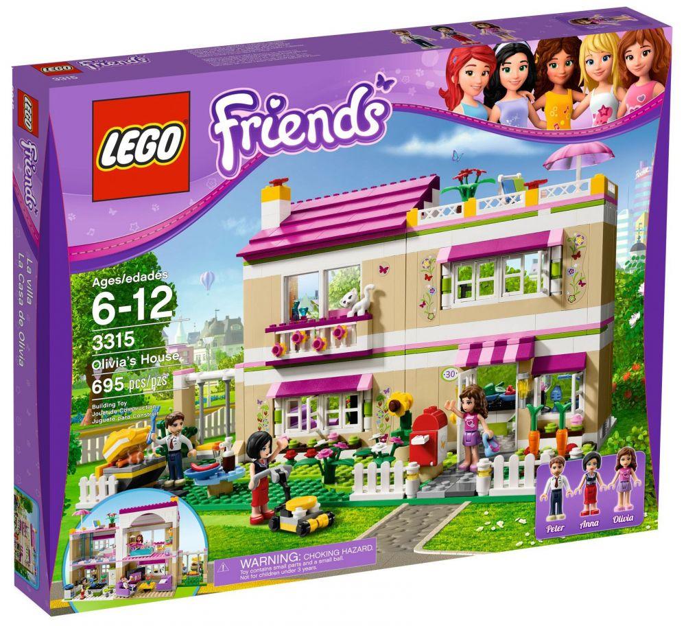 Lego friends 3315 pas cher la villa for Les maisons de manon prix