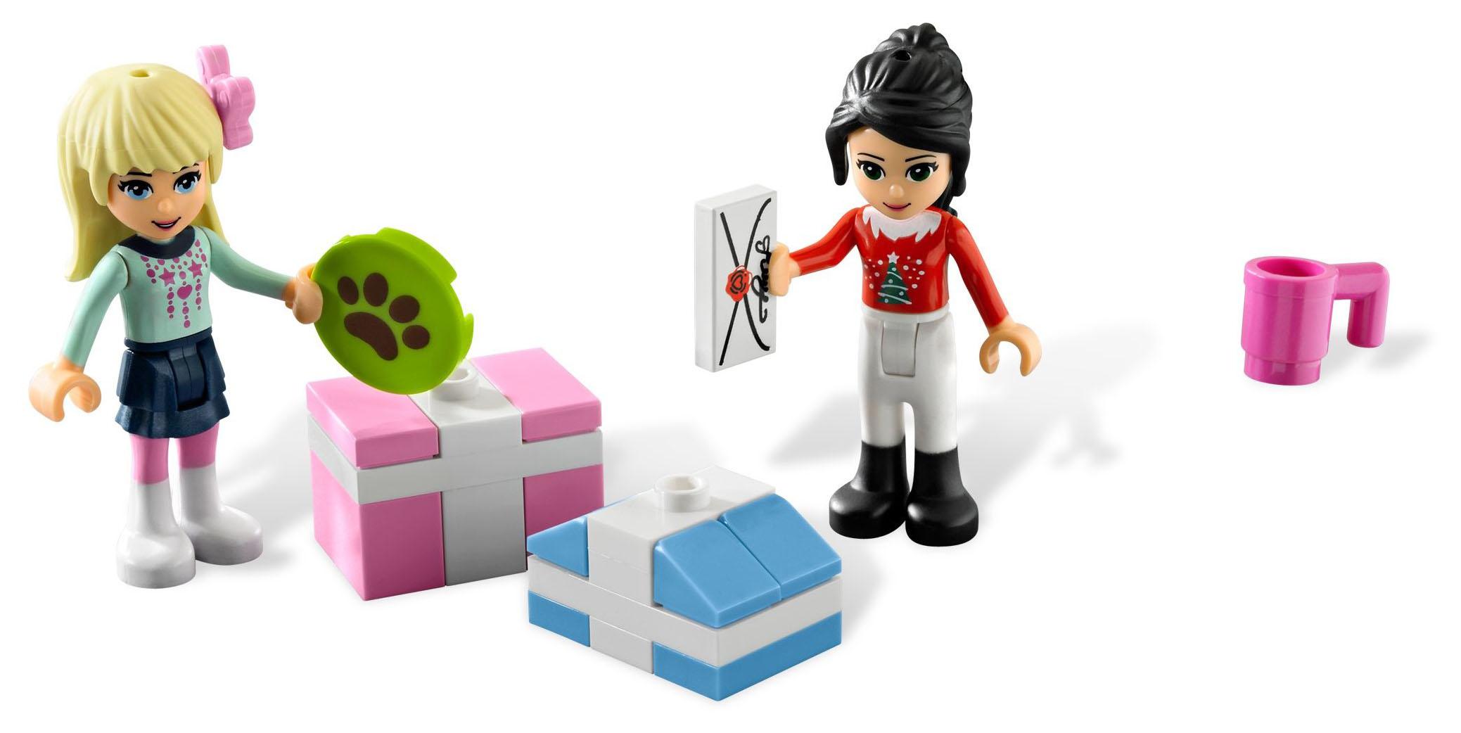 lego saisonnier 3316 pas cher le calendrier de l 39 avent lego friends 2012. Black Bedroom Furniture Sets. Home Design Ideas