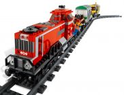LEGO City 3677 Train de marchandises rouge