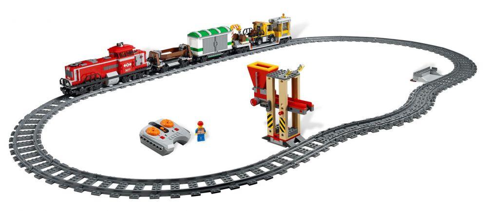 Lego Marchandises Train City De Rouge 3677 cA3RLq45j