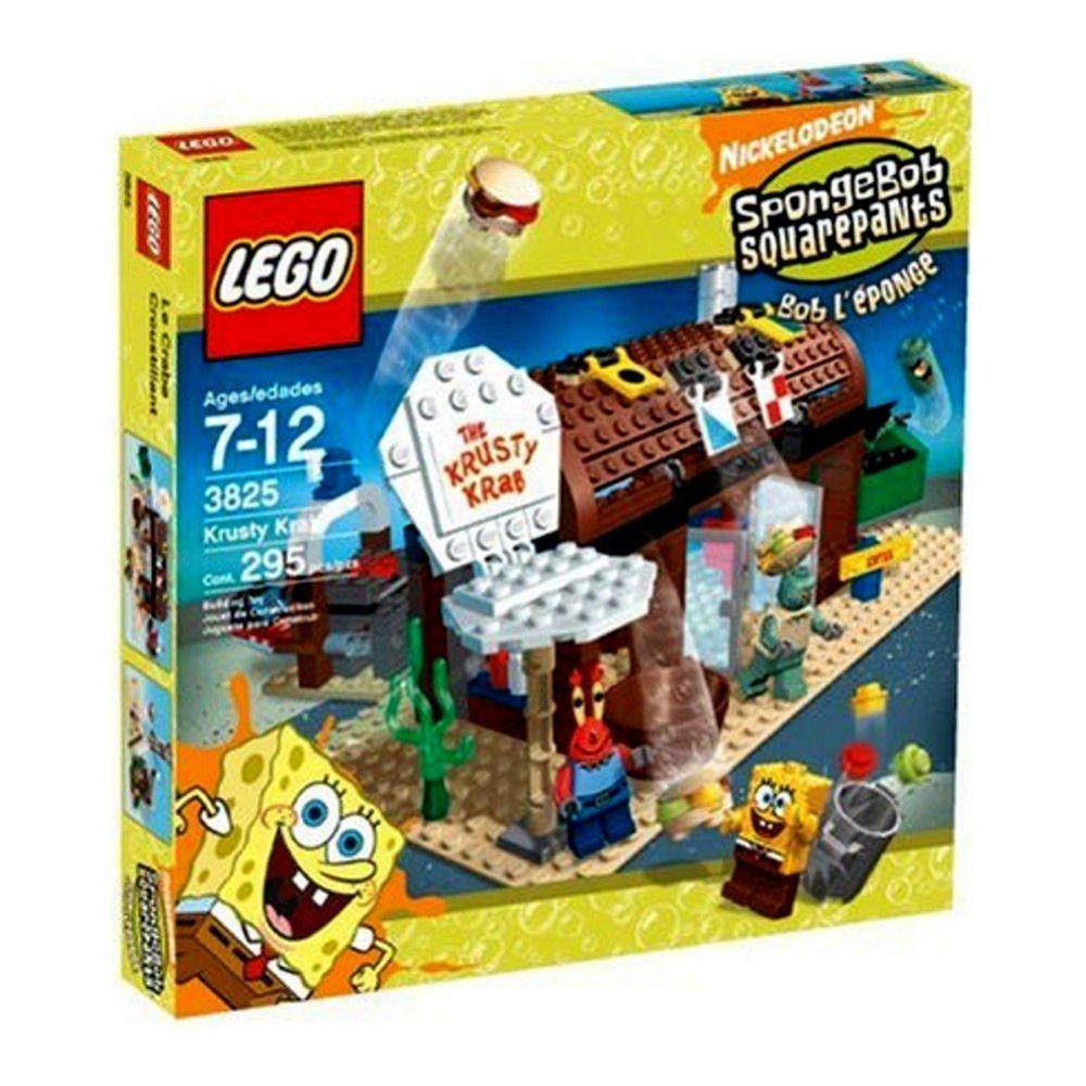 Lego Bob L éponge 3825 Pas Cher Le Crabe Croustillant