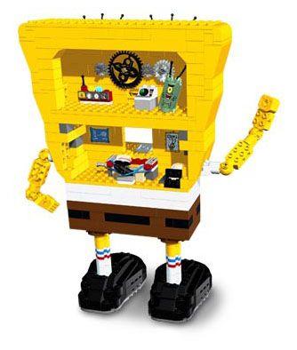 Lego bob l 39 ponge 3826 pas cher bob l 39 ponge - Basket bob l eponge ...