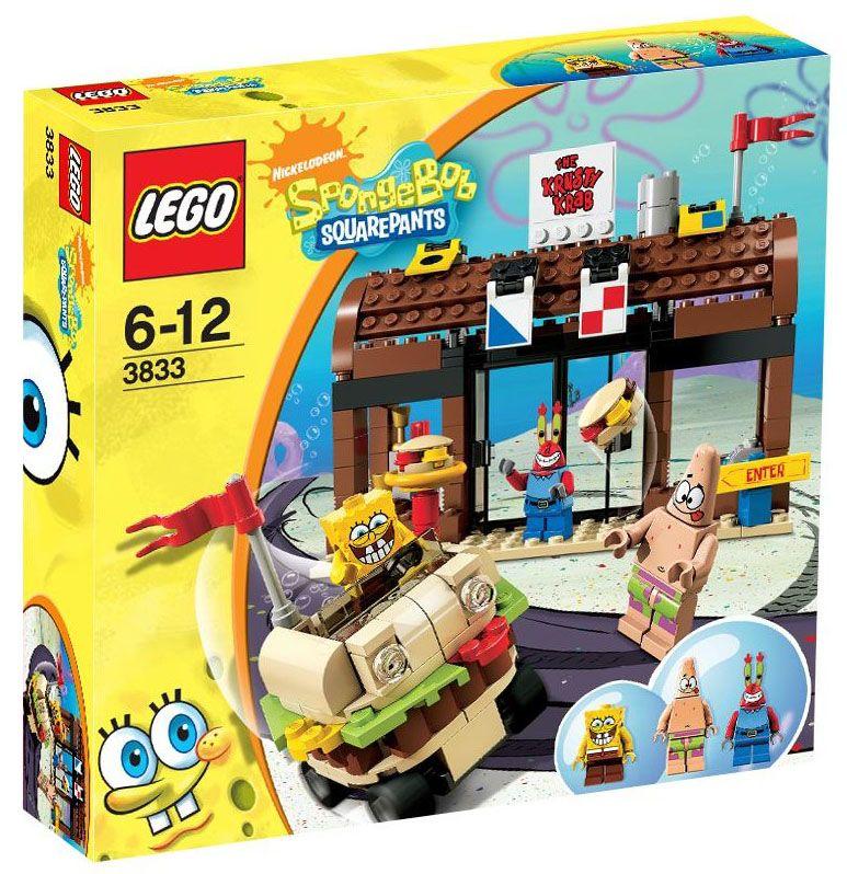 Lego Bob L éponge 3833 Pas Cher Aventures Au Crabe Croustillant