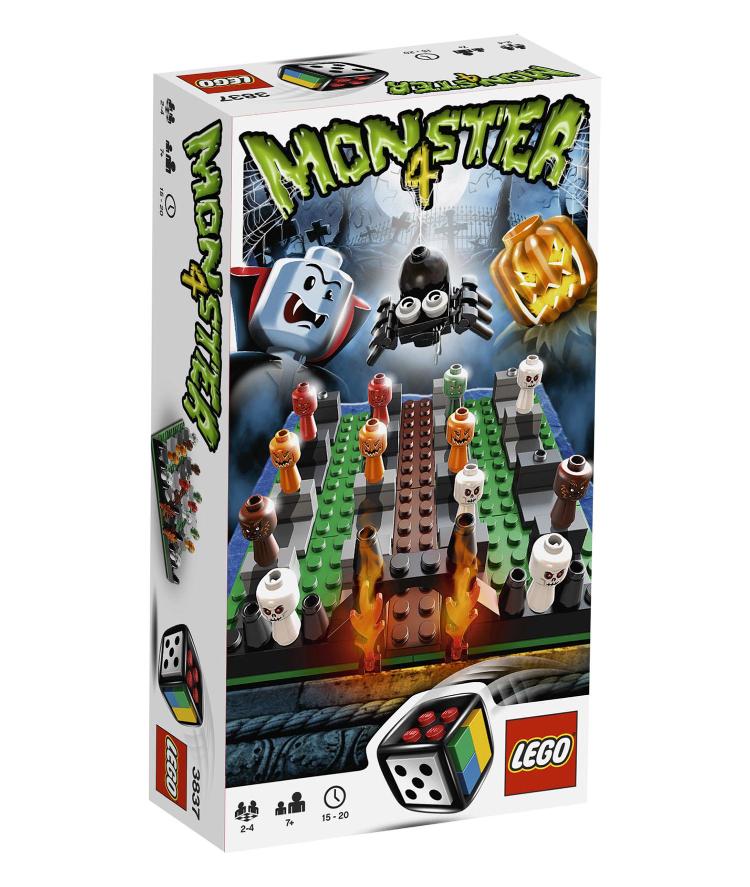 lego jeux de soci t 3837 pas cher monster 4. Black Bedroom Furniture Sets. Home Design Ideas