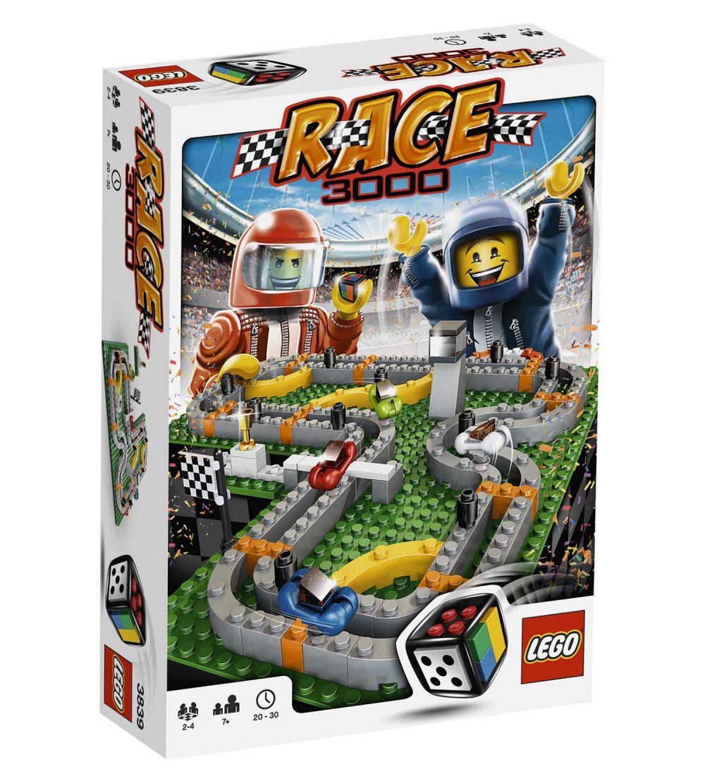 lego jeux de soci t 3839 pas cher race 3000. Black Bedroom Furniture Sets. Home Design Ideas
