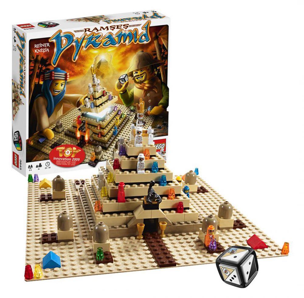 lego jeux de soci t 3843 pas cher ramses pyramid. Black Bedroom Furniture Sets. Home Design Ideas