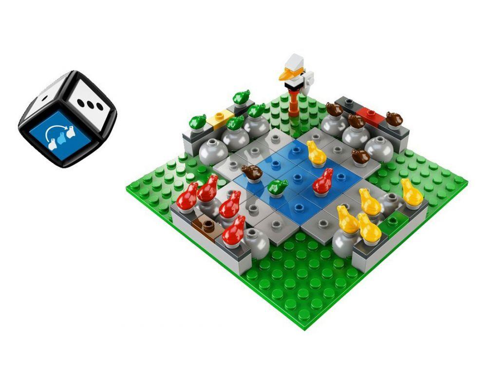 lego jeux de soci t 3854 pas cher frog rush. Black Bedroom Furniture Sets. Home Design Ideas