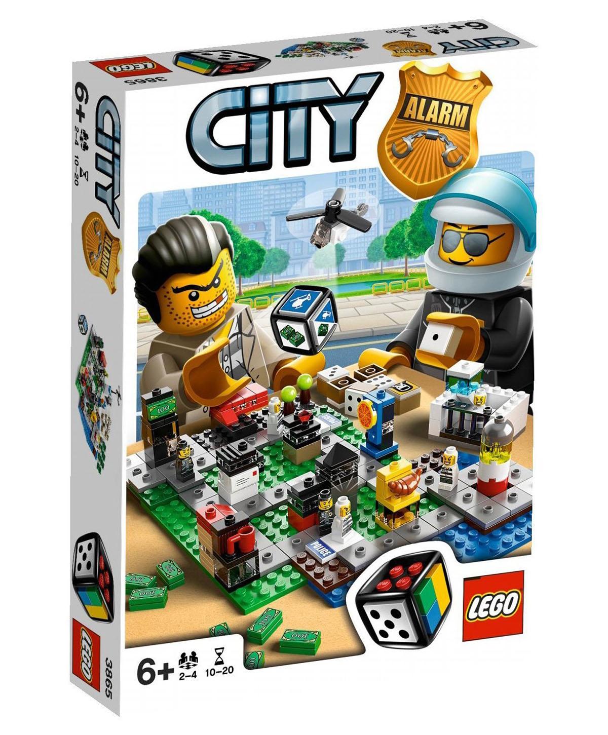 lego jeux de soci t 3865 pas cher lego city alarm. Black Bedroom Furniture Sets. Home Design Ideas