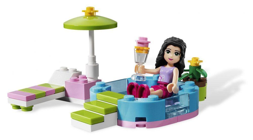 lego friends 3931 pas cher la piscine d 39 emma. Black Bedroom Furniture Sets. Home Design Ideas