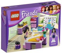 LEGO Friends 3936 - Le studio de design d'Emma pas cher
