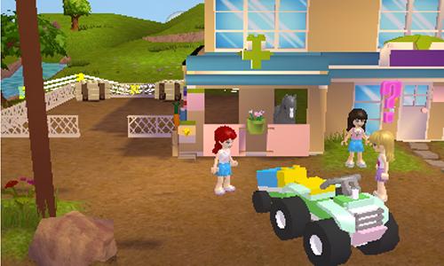 lego jeux vid o 3dslf pas cher lego friends 3ds 2ds. Black Bedroom Furniture Sets. Home Design Ideas