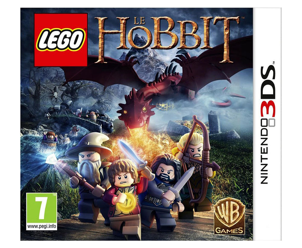 lego jeux vid o 3dsllh pas cher lego le hobbit 3ds. Black Bedroom Furniture Sets. Home Design Ideas
