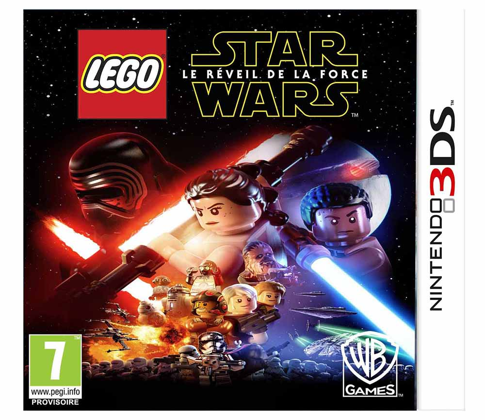 lego jeux vid o 3dsswlrf pas cher lego star wars le r veil de la force 3ds. Black Bedroom Furniture Sets. Home Design Ideas