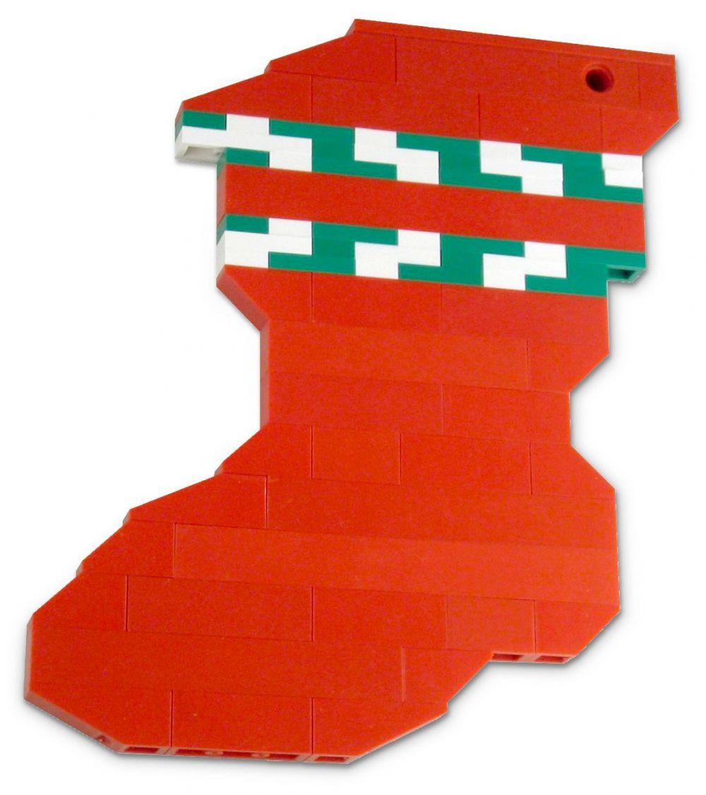 Lego saisonnier 40023 pas cher chaussette de no l polybag - Chaussette de noel personnalisee pas cher ...