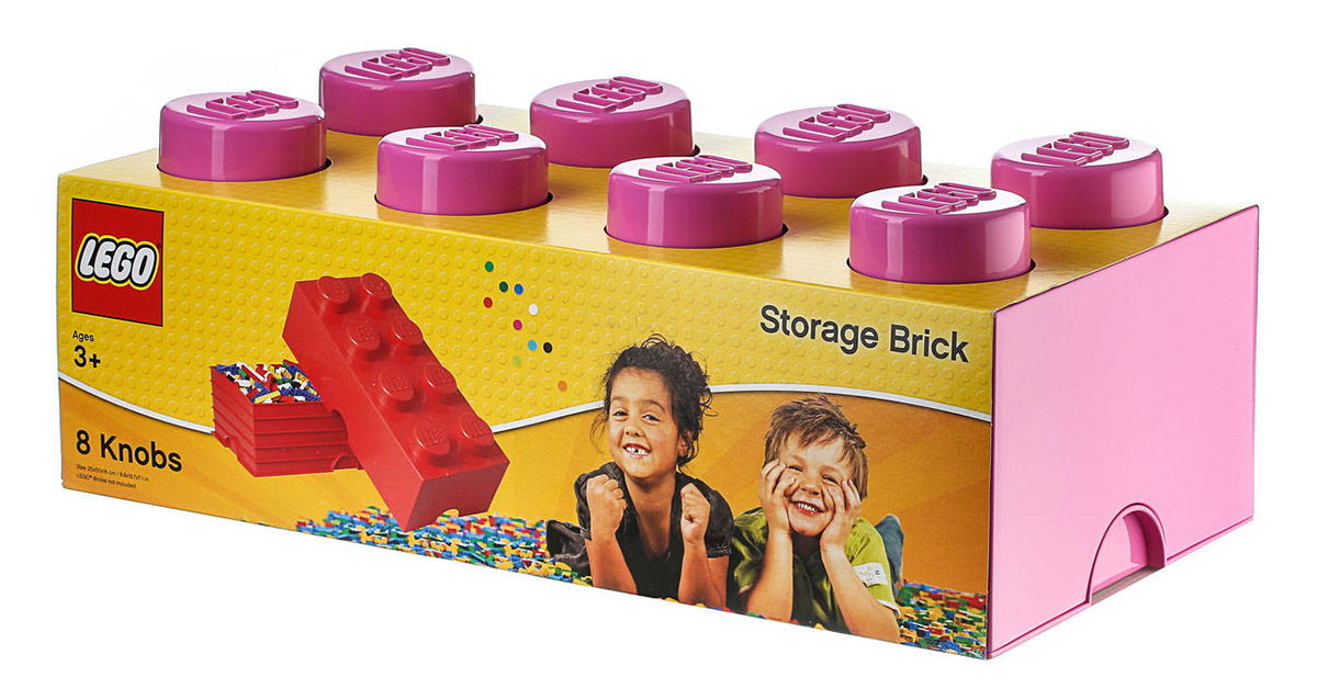 Lego rangement 40041739 pas cher brique de rangement - Brique de rangement lego ...