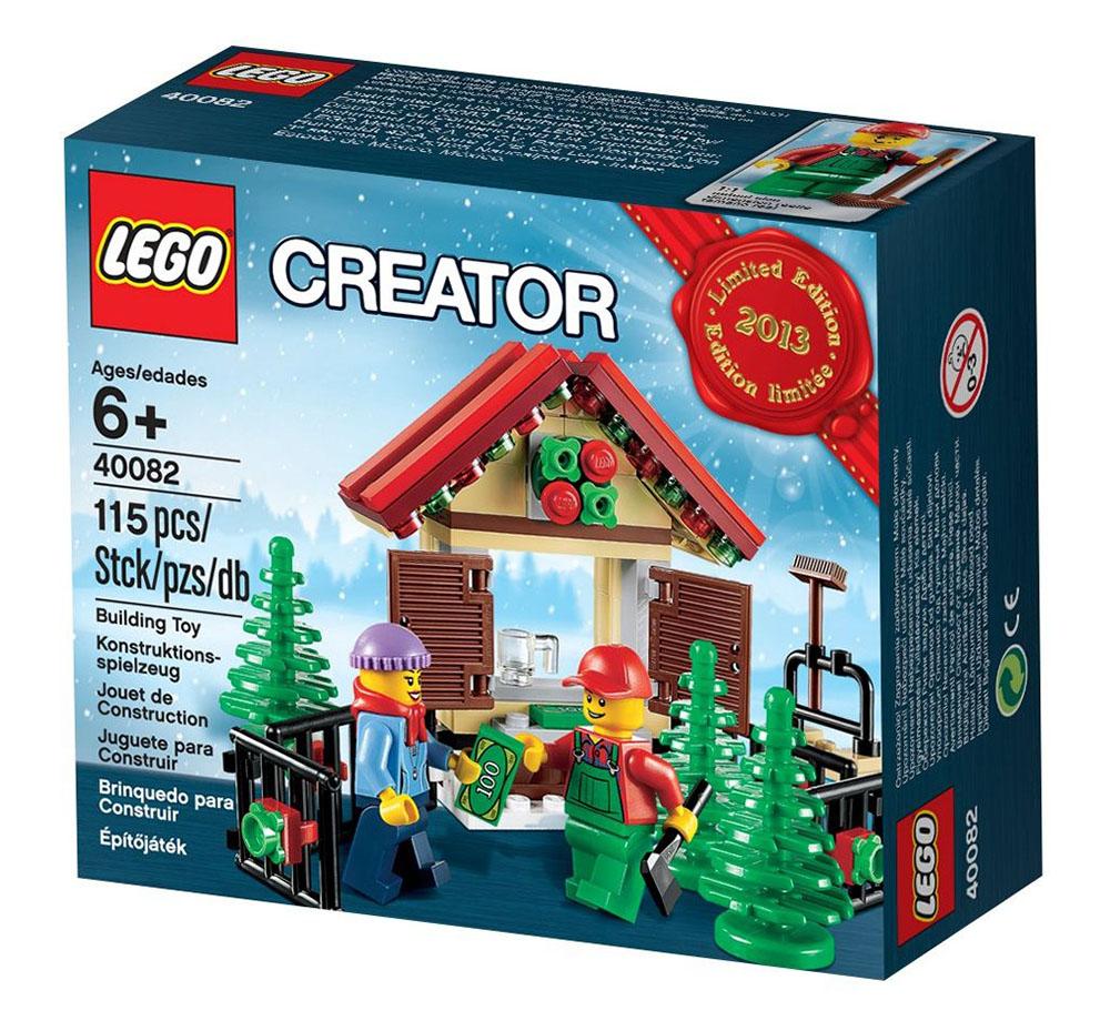 Lego saisonnier 40082 pas cher stand de sapins de no l - Sapin de noel le moins cher ...