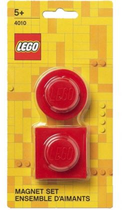 LEGO Objets divers 4010 Ensemble d'aimants - Rouge