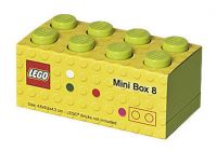 LEGO Rangement 40121220 Lunch box Vert Lime - Small