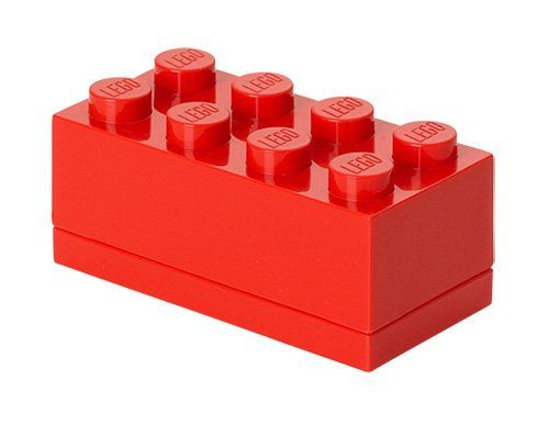 LEGO Rangement 40121730 Lunch box Rouge - Small