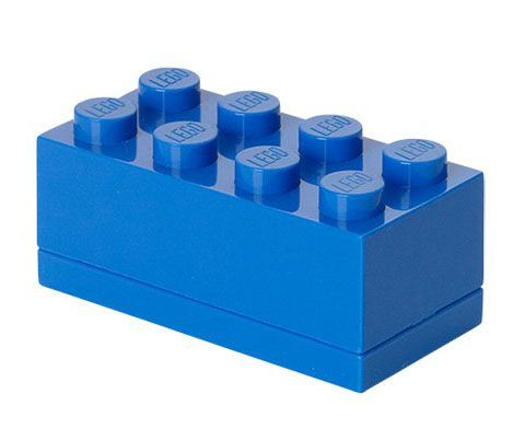 LEGO Rangement 40121731 Lunch box Bleu - Small