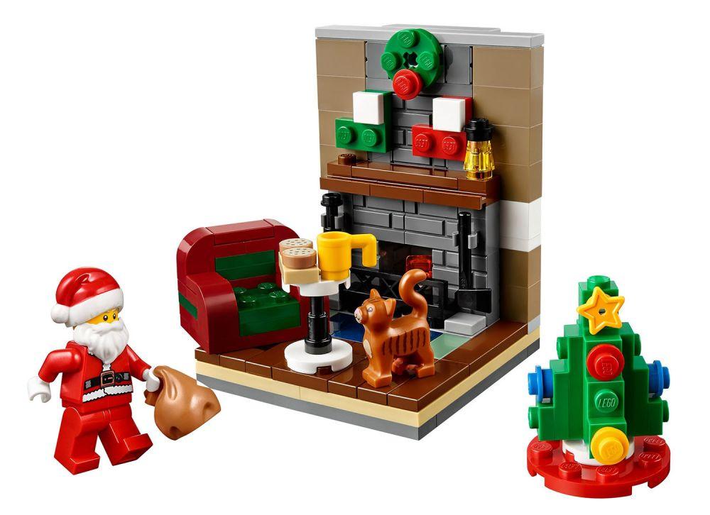 LEGO Saisonnier 40125 Pas Cher La Visite Du Pre Nol