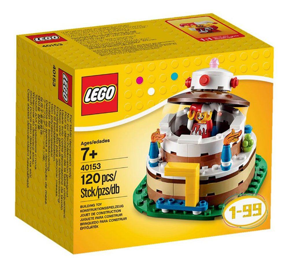 LEGO Saisonnier 40153 Pas Cher Dcoration Pour Table Danniversaire