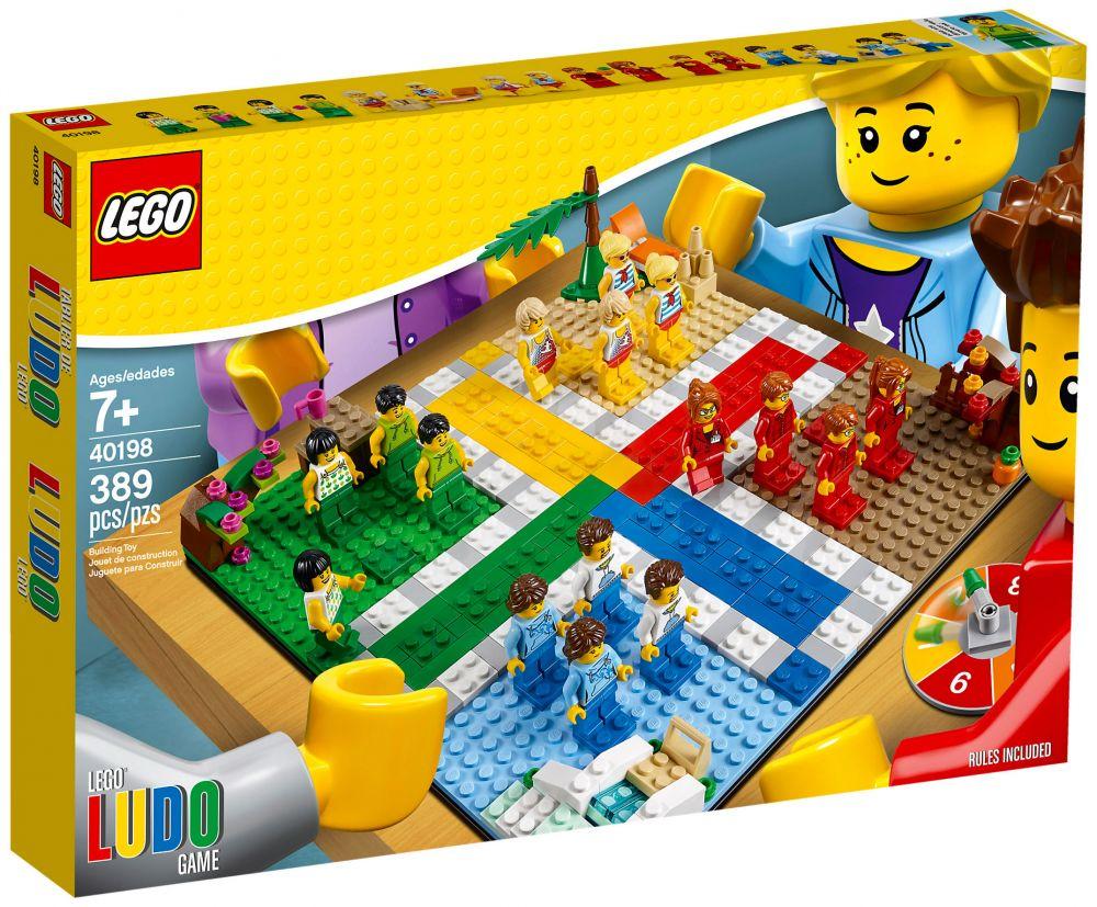 lego jeux de soci t 40198 pas cher le jeu des petits chevaux lego. Black Bedroom Furniture Sets. Home Design Ideas