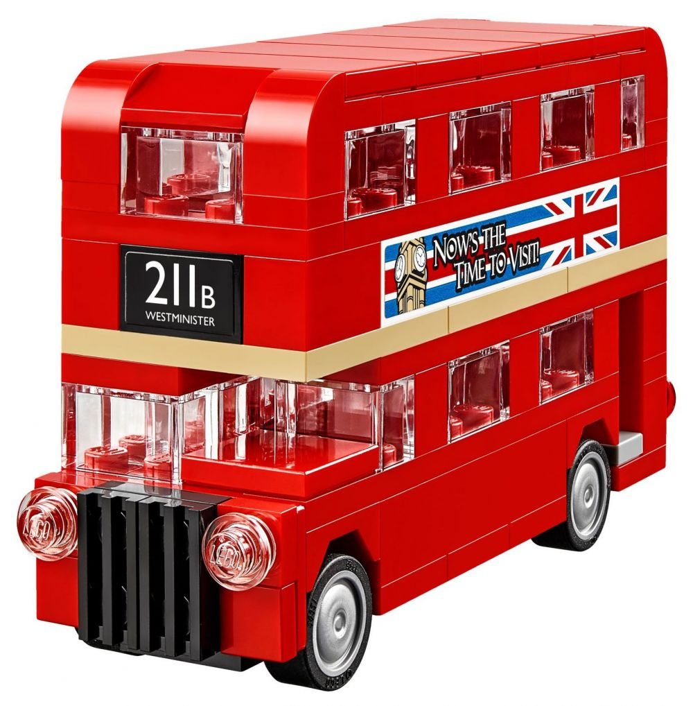 lego creator 40220 pas cher le bus de londres. Black Bedroom Furniture Sets. Home Design Ideas