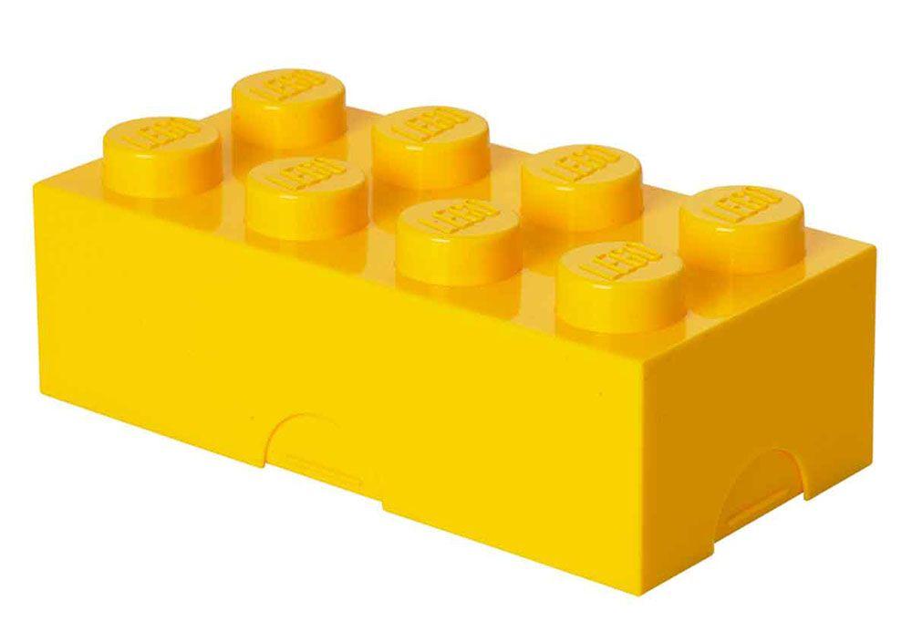 lego rangement 40231732 pas cher lunch box jaune large. Black Bedroom Furniture Sets. Home Design Ideas