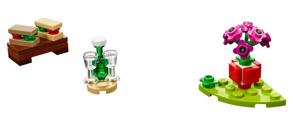 Lego saisonnier 40236 pas cher pique nique romantique de - Pique nic romantique ...