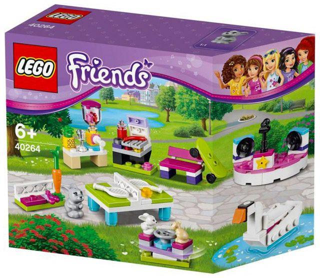Fan Designed Lego Friends Heartlake City: LEGO Friends 40264 Pas Cher, Ensemble D'accessoires « Je