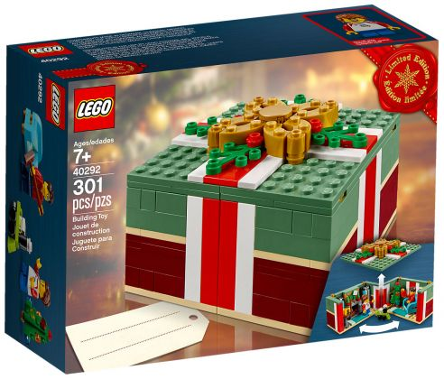 LEGO Saisonnier 40292 pas cher - Cadeau de Noël