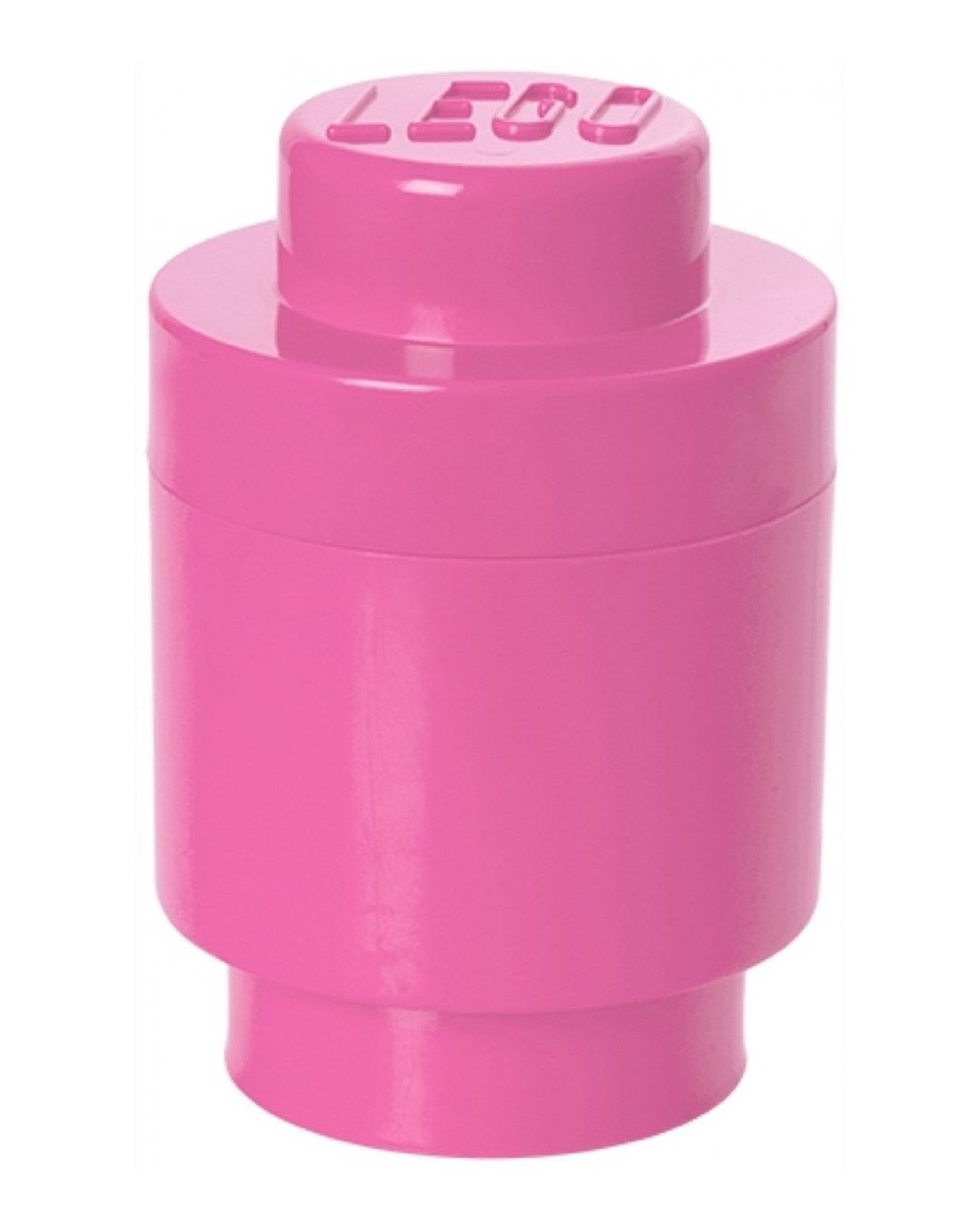 Boite ronde rose plot lego rangement with boite rangement - Boite de rangement lego pas cher ...