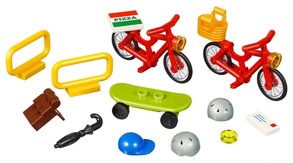 LEGO Objets divers 40313 pas cher, LEGO Xtra - Vélos
