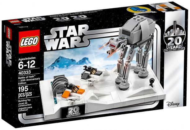 LEGO Star Wars 40333 Battle of Hoth - Édition 20ème anniversaire