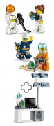 LEGO Objets divers 40345 Pack de figurines – LEGO City 2019