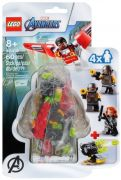 LEGO Marvel 40418 Le Faucon et Black Widow s'unissent